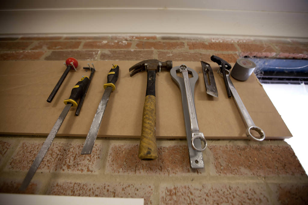 1. Assemble the tools and materials