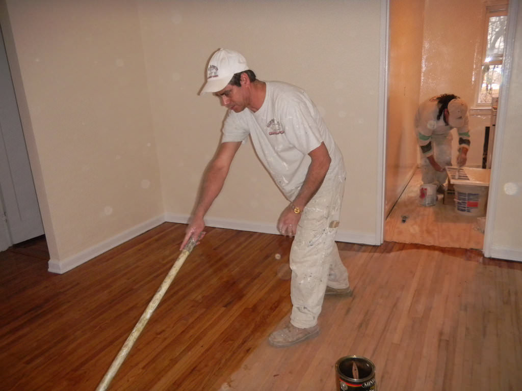 11 Steps To Staining Your Wood Floor Home Improvement