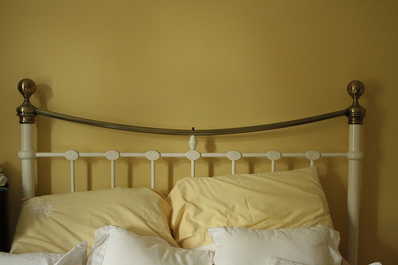 Yellow Bed and wall Household objects - Colours-flickr-eltpics