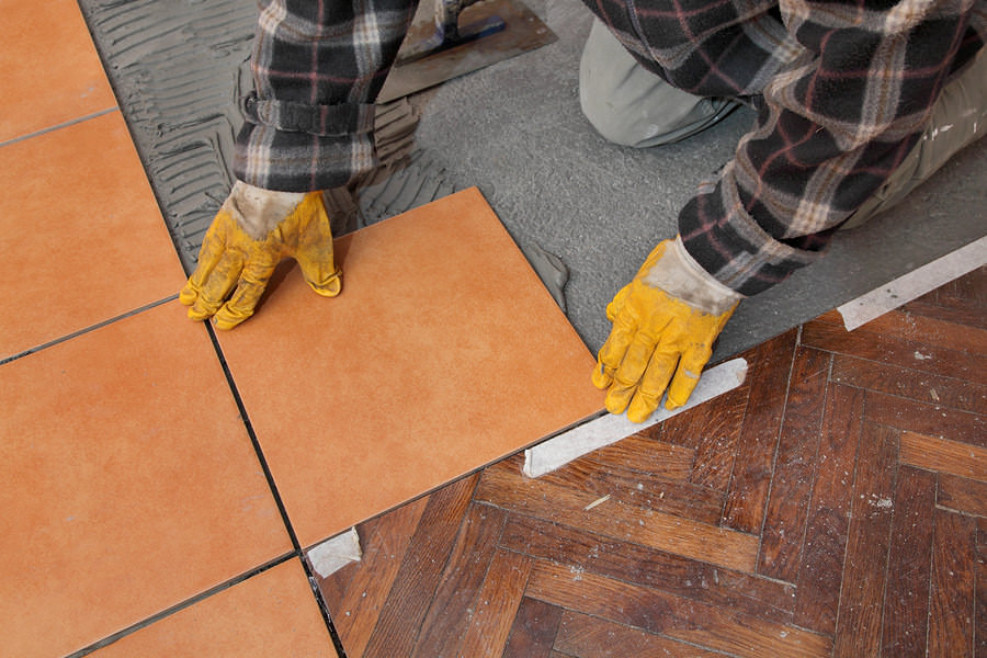 How to take out tile flooring