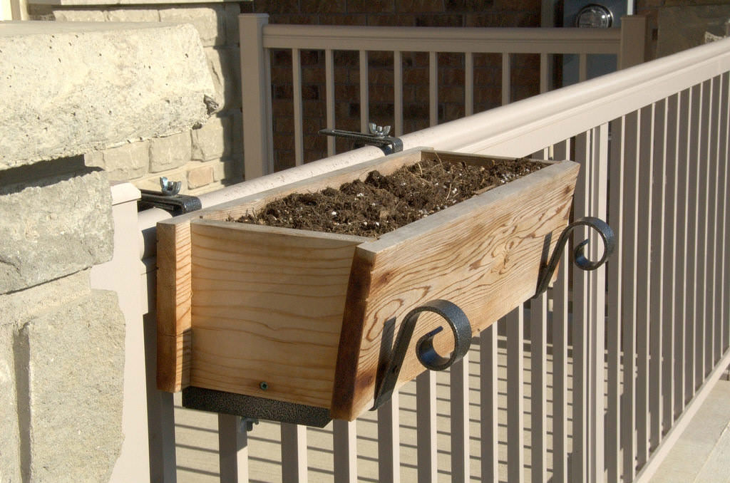 19. Install Flower Boxes